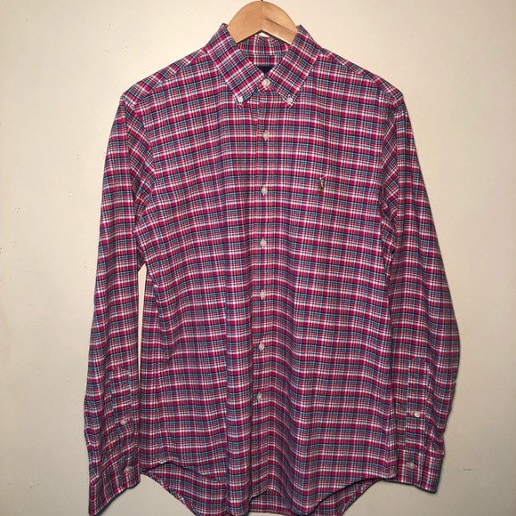 Polo by Ralph Lauren Other - Polo Ralph Lauren Men's (M) Red Button Up